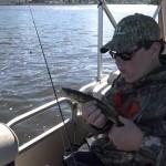 mississippi river walleye fishing trip