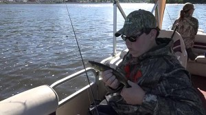 mississippi river walleye fishing trip